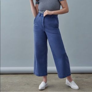 Pants - Everlane wide leg crop